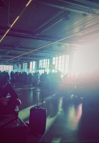 Early morning, Berlin Airport