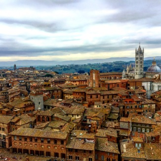 Siena from the Torre