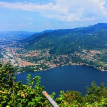 Lake Como from the lighthouse